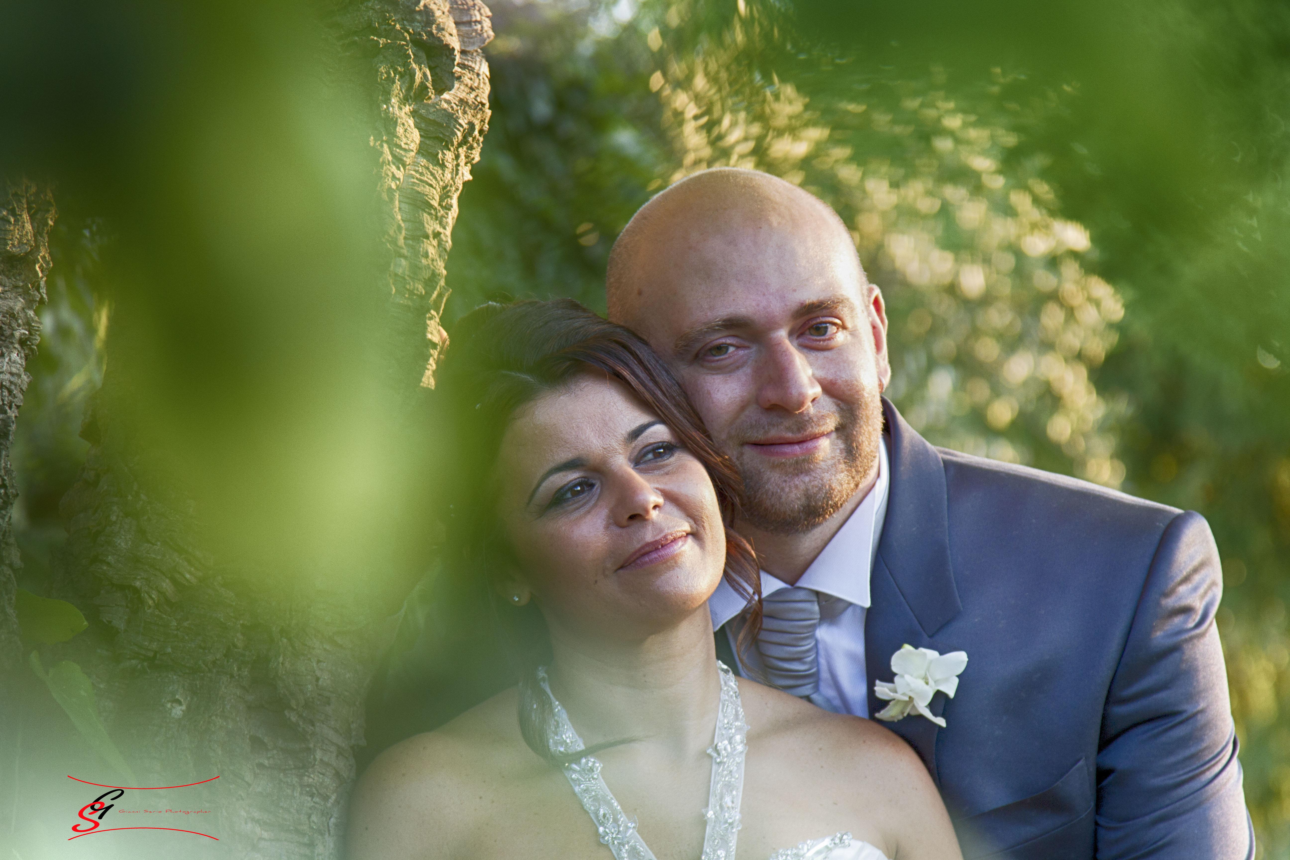 fotografo di matrimonio a villa sanna