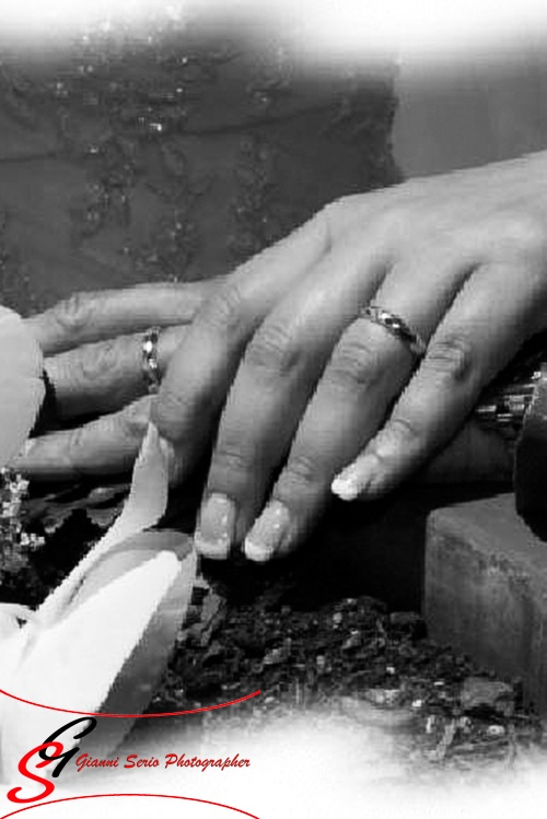 Fotografo di matrimonio con rito civile